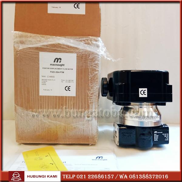 MACNAUGHT FLOW METER MODEL F025   FLOWMETER OIL 1 INCH